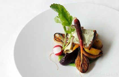 Bishopstoke Farm lamb, escabeche of vegetables and cheese on toast - Luke Holder