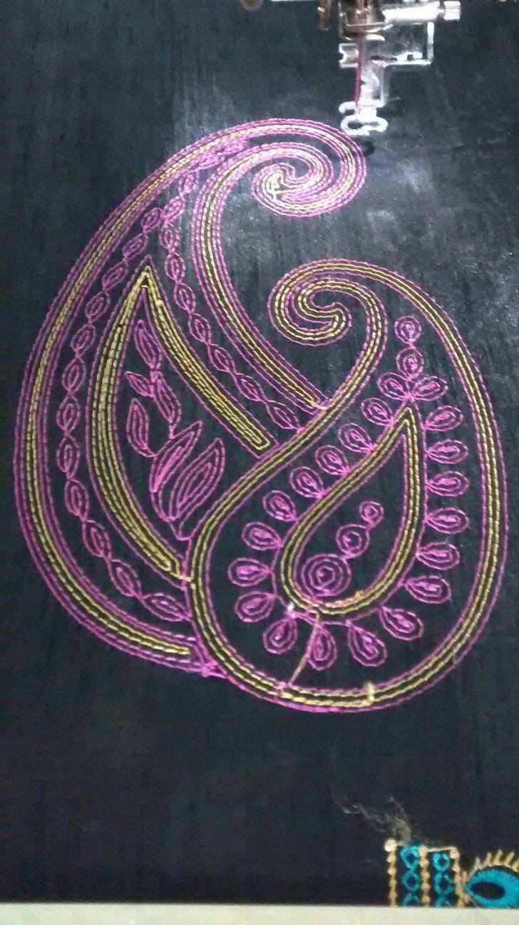 Chain stitch design