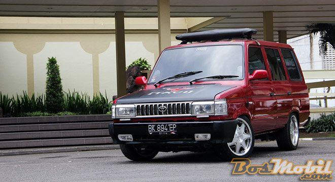 Modif Toyota Kijang SPL : Nekat Demi Keharuman Nama Klub #info #BosMobil