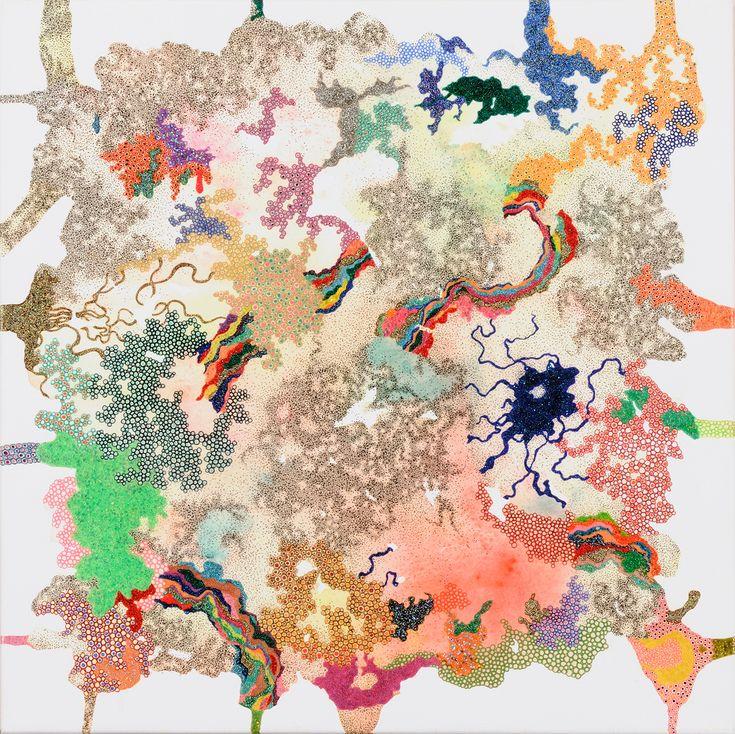 みちこ / Tomoaki TARUTANI #ART #Contemporary ART #POP ART #Mandala #曼荼羅