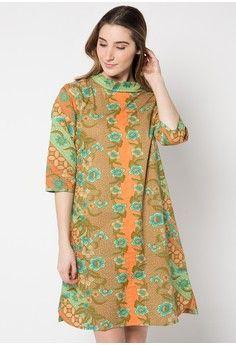 Dress Batik Motif Liris Kawung Seling from Danar Hadi