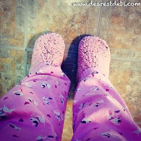 Hook up slippers
