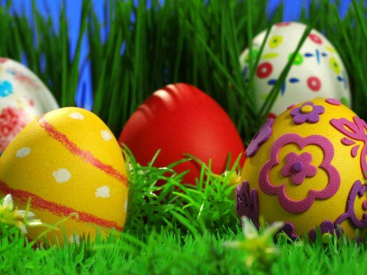 // Geschilderde eieren