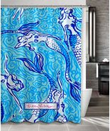 New Lilly Pulitzer Custom Mermaid Print On Poly... - $35.00 - $41.00