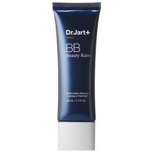 beauty balm - BB Creams are often applied during the day as part of a natural-looking cosmetic routine, but this beauty balm by Dr.Jart+ is intended to be used d...