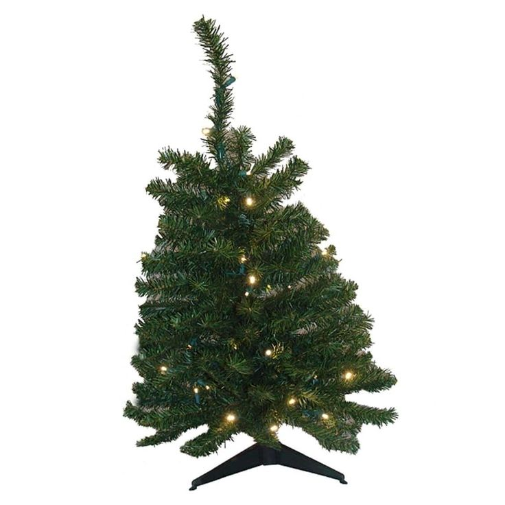 Fabulous  u Pre Lit LED Natural Two Tone Pine Artificial Christmas Tree Clear Lights