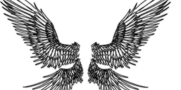 double wing tattoo designs tattoos pinterest wing tattoo designs tattoo designs and tattoo. Black Bedroom Furniture Sets. Home Design Ideas