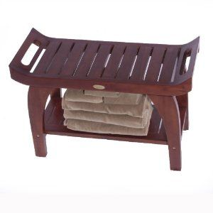 Enjoy variety of Teak Shower Benches that meet your Needs | Teak Shower Benches