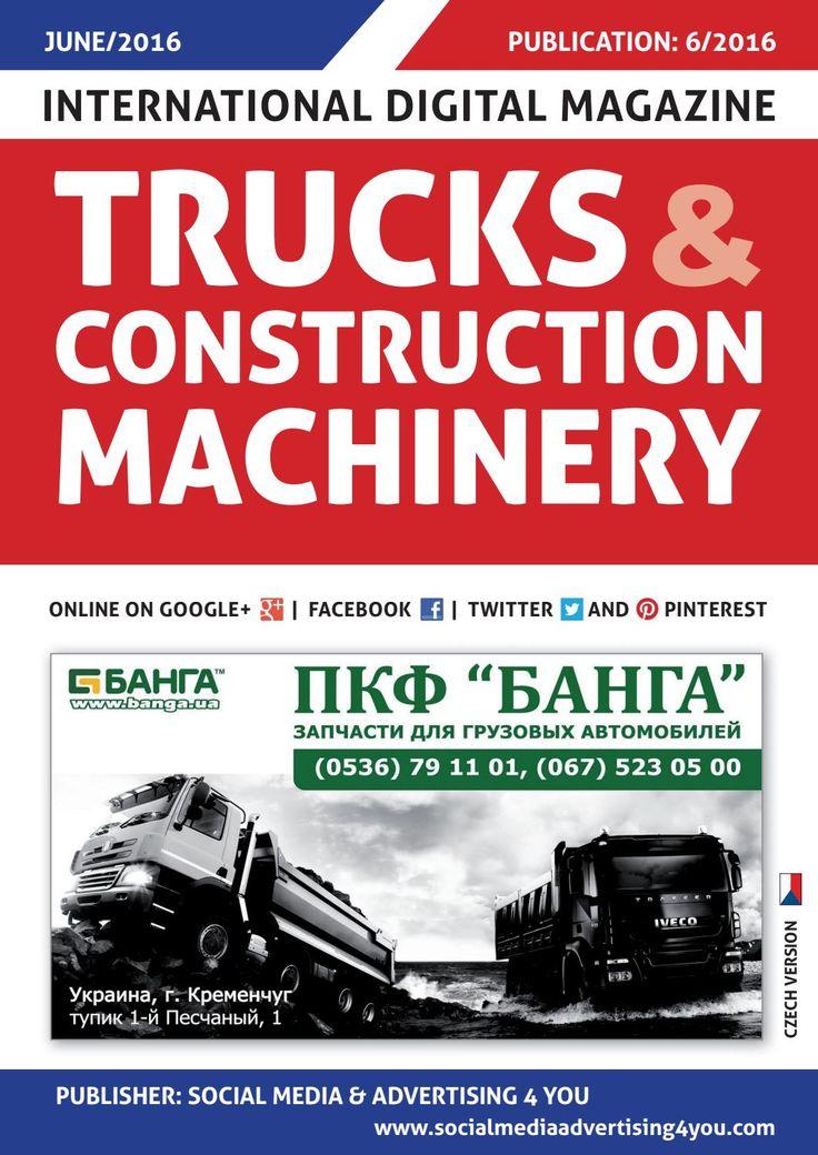 TRUCKS & CONSTRUCTION MACHINERY - June 2016