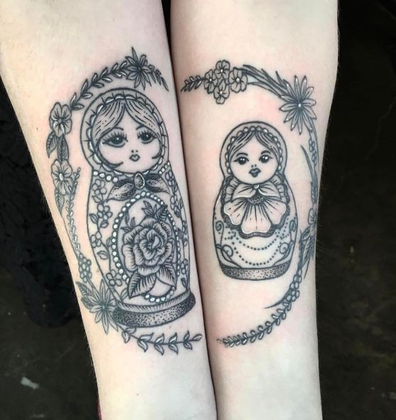 25 best ideas about doll tattoo on pinterest for Russian style tattoo