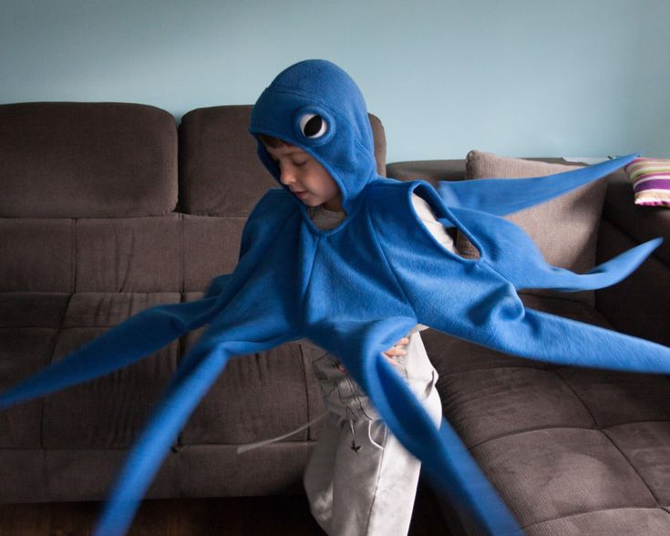 Octopus Costume, Blue Octopus Halloween Costume, Party Costume, For Boys or Girls, Toddler Costume by oKidz on Etsy https://www.etsy.com/uk/listing/290002095/octopus-costume-blue-octopus-halloween