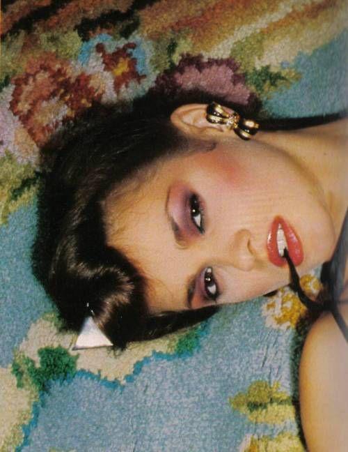 Model Gia Carangi, 1970s.