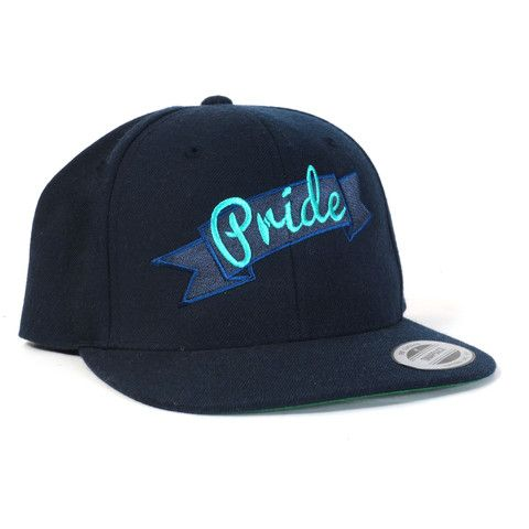 Snapback Pride hat from Make Vancouver.