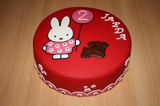 Karin's Taarten: Nijntje taart
