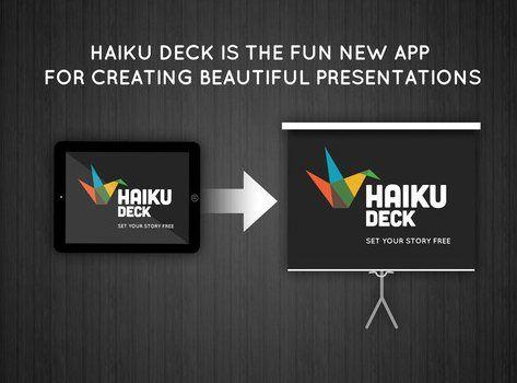 Haiku Deck, para crear bonitas presentaciones en iPad | wwwhat's new, por Rebeca Polo