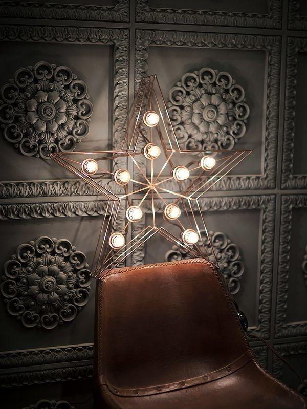 Медные буквы и цифры - RetroBlock.Мастерская по производству светильников, вывесок, мебели и декора.