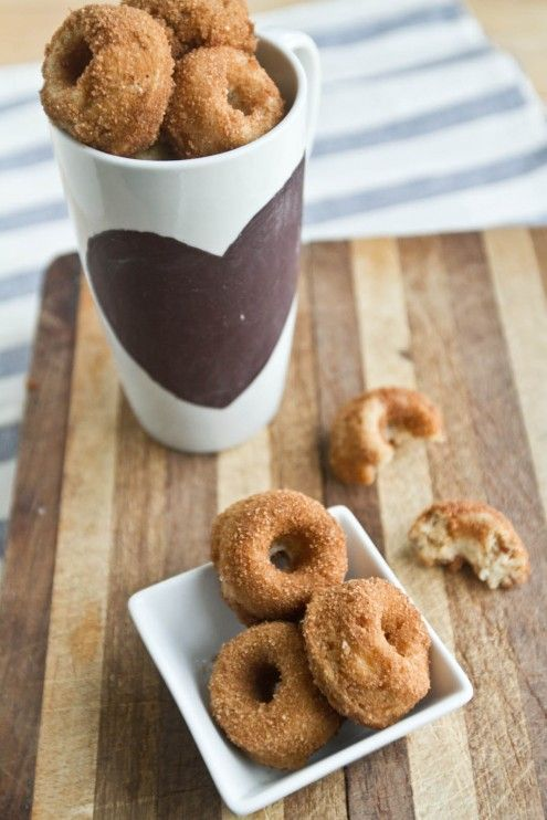 Whole Wheat Banana Nut mini doughnuts. If I ever have time in the ...