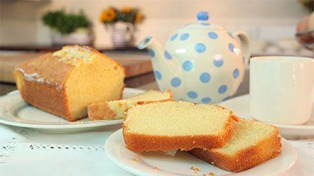 Silvana Franco shows you how to make a classic Madeira cake.