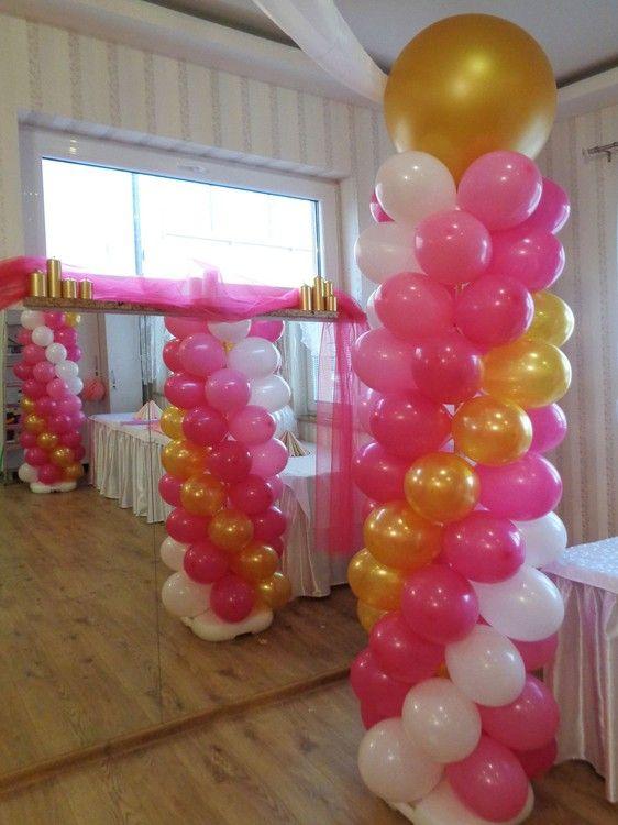 Balónové výzdoby, dekorácie, héliové balóny, plnenie balónov héliom