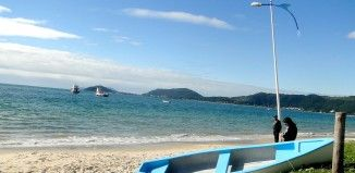 Praia Canasvieiras – Florianópolis