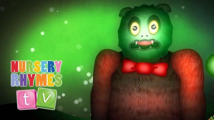 THE MONSTER SONG | Nursery Rhymes TV. Toddler Kindergarten Preschool Bab...