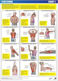 Stretching chart 1 - upper body