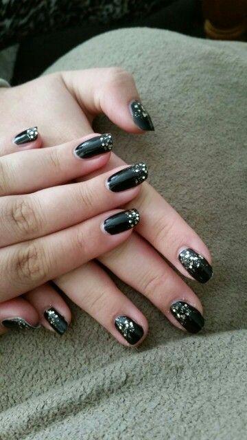 Glitter nails # Sensationailz