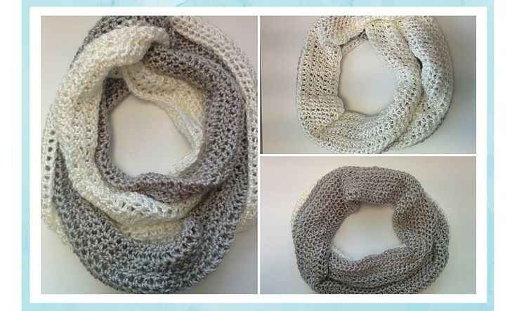 "At the beginner of December, I released my free ebook called The Beginner's Guide to Crochet. Judging by how many people have pinned the image of this scarf, it seems that the ""Duo-Chrome Infinity Scarf"" is the most popular of the 15 patterns in the book. So today, I decided to share the full pattern …"