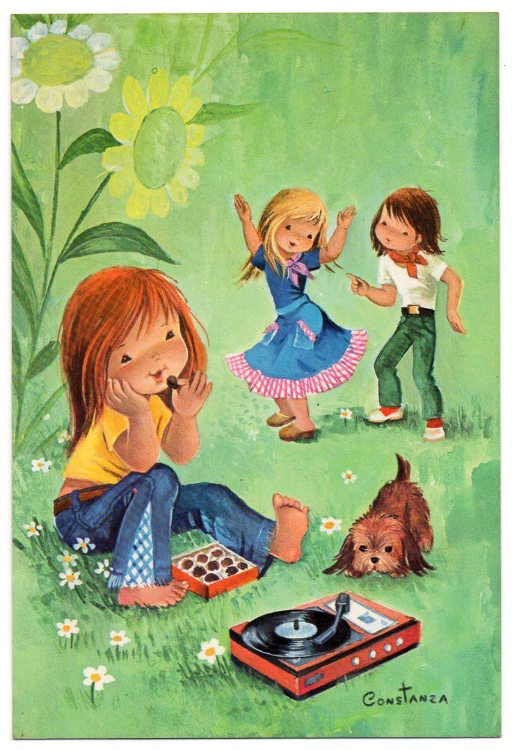 Pin de charlotte kempe en creus constanza pinterest - Ilustraciones infantiles antiguas ...