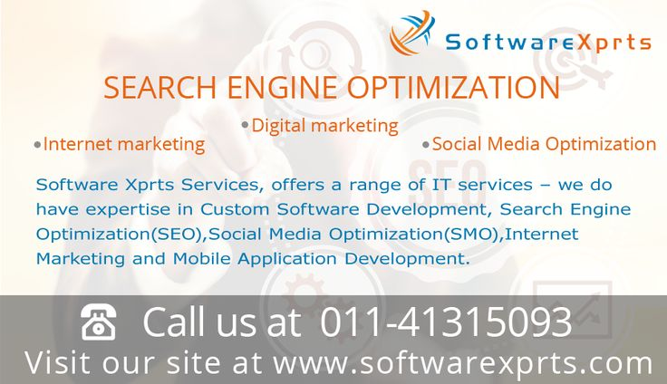 Softwarexprts gives best seo services in delhi/ncr.we provide digital marketing,internet marketngmany other seo services.