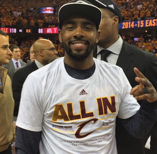 6/19/16 CAVS BEAT WARRIORS FOR NBA CHAMPIONSHIP!!! ... Via #ESPNStatsInfo  ·   Kyrie Irving (@cavs): 26 points; 27.1 PPG in series (most by LeBron James teammate in NBA Finals series)