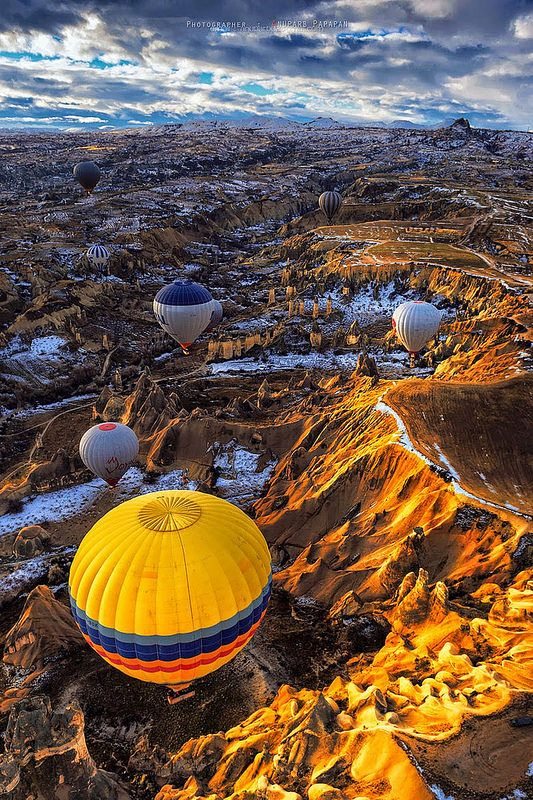 Cappadocia, Turkey  Enjoy tours around Turkey and Greece with FEZ Travel: www.feztravel.com/