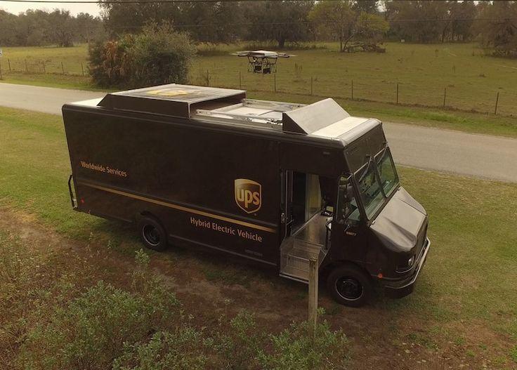 drone-ups UPS consigue mediante drones la entrega de productos a usuarios