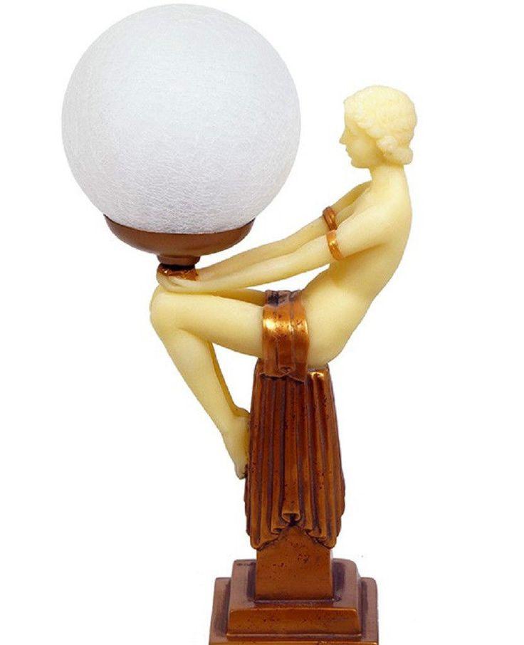 Ebayde Itm Tischlampe Skulpturlampe