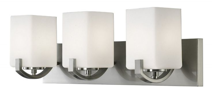 Shop Allen Roth Merington 3 Light Brushed Nickel Vanity: 17 Best Ideas About Residential Lighting On Pinterest
