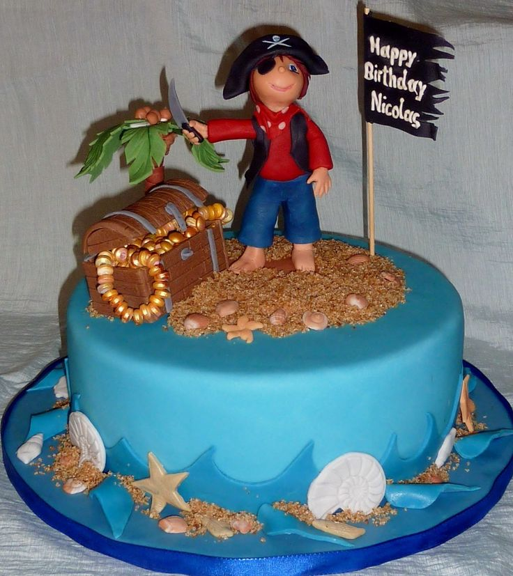 Piraten Torte