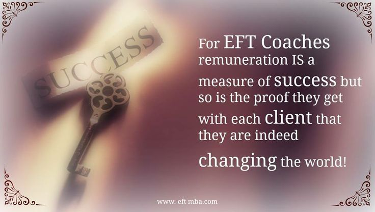 EFT coaches are incredible people! Helping #EFT coaches master business and marketing skills since 2010 http://www.eftmba.com