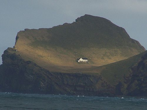 Vestmannaeyjar Islands in Iceland ~ Yes. I will befriend these people and live on the far end of their island so we can be hermit-neighbors.