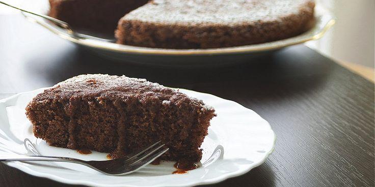 Σοκολατένιο κέικ με αλεύρι αμυγδάλου