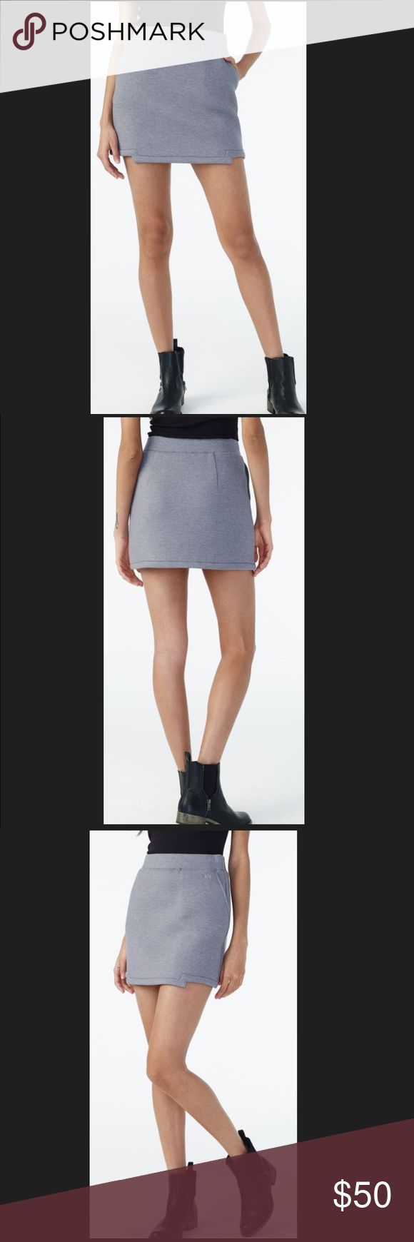 "ARMANI EXCHANGE KNIT GEO - HEM MINI SKIRT. ARMANI EXCHANGE KNIT GEO - HEM MINI SKIRT.          Size : Small Approx 15 1/2 "" A/X Armani Exchange Skirts Mini"