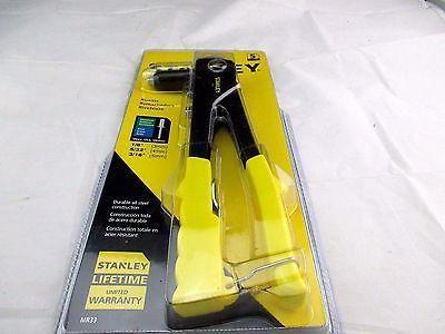New Riveter Medium Duty Stanley Tools Pop Rivet Tools MR33