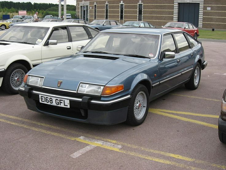 Rover SD1 - would love to blast around the highways here in the US in one of these, confusing everyone!