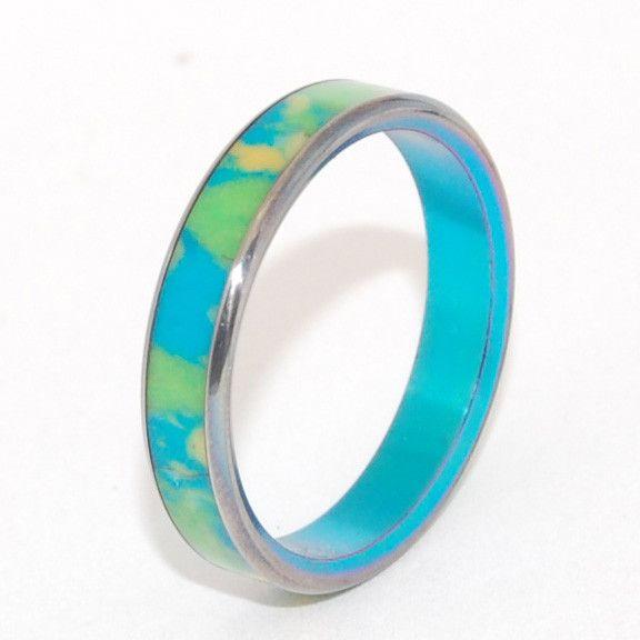 Happy day      Minter + Richter | Unique Wedding Rings - Titanium Rings | Titanium Rings | Minter + Richter