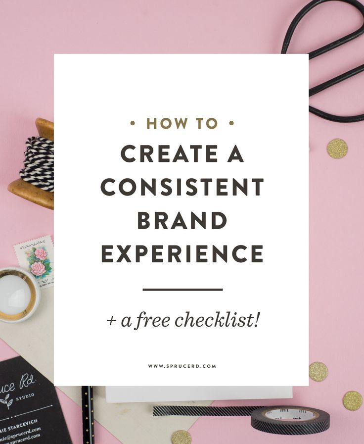How to create a consistent brand experience http://www.sprucerd.com/how-to-create-a-consistent-brand-experience/?utm_content=buffer064f2&utm_medium=social&utm_source=pinterest.com&utm_campaign=buffer