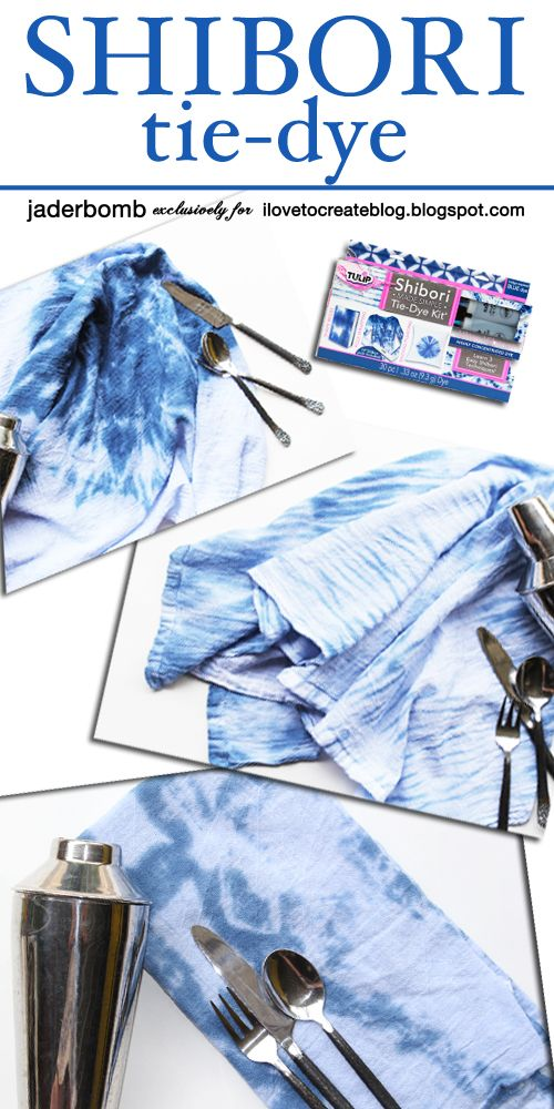 iLoveToCreate Blog: Easy Shibori Tie-Dye Techniques