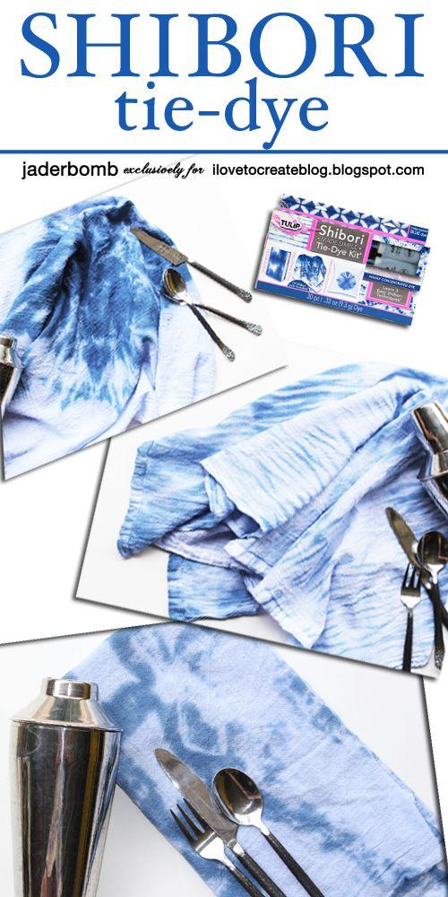 iLoveToCreate Blog: Easy Shibori Tie-Dye Techniques