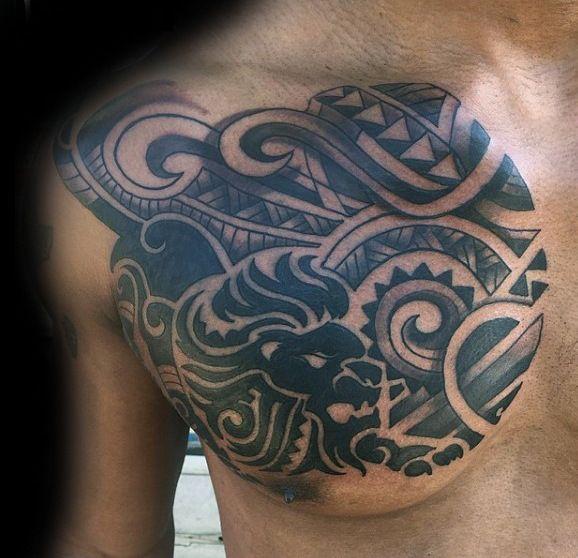 Best 25 Tribal Chest Tattoos Ideas On Pinterest: 25+ Best Ideas About Tribal Chest Tattoos On Pinterest