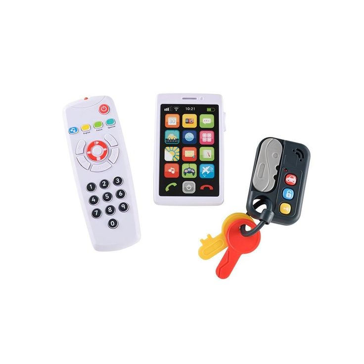 My First Gadget Set Tv Remote Phone Car Keys Baby ...