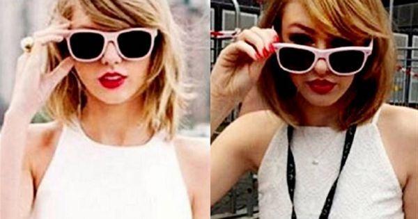 16 de dezembro de 2015: Taylor Swift conhece a sua sósia na Austrália (DN) Com: Taylor Swift