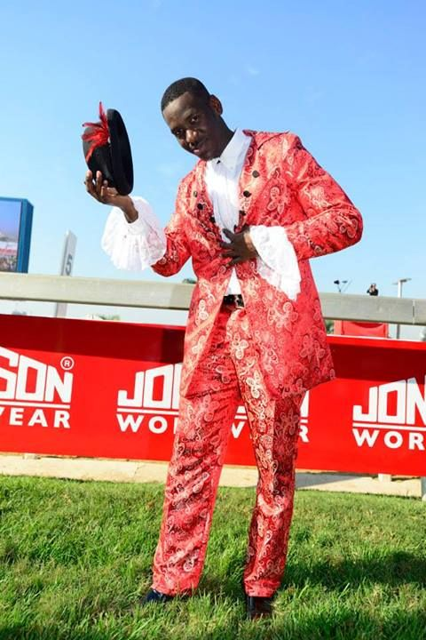 """Some of the creative designs based on the """"Big Screen""""the at the The official Vodacom Durban July. Pics by Anthony Grote #racing #fashion #horses #VDJfashion"""